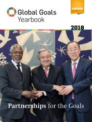 Global Goals Yearbook 2018