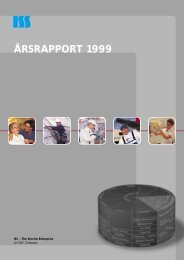 ÅRSRAPPORT 1999 - ISS