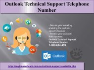 Expert Suggestion | 1-800-614-419 Outlook Technical Support Telephone Number