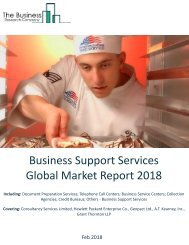 Business Support Services Global Market Report 2018 Sample