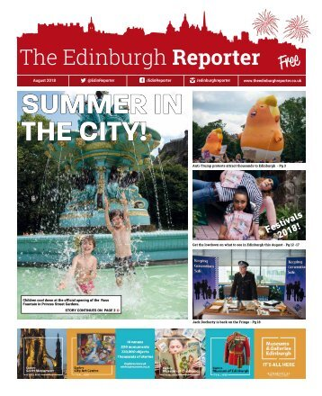 The Edinburgh Reporter August 2018 issue