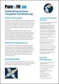 Verbindungssysteme mit glatter Innenbohrung Nahtlose Übergange - Seite 2