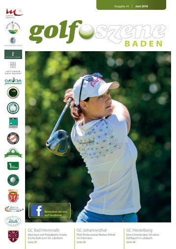 GolfSzene Baden Nr. 2/2018