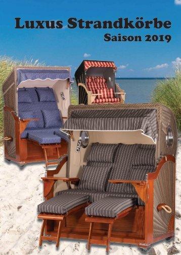 Strandkorbprospekt Saison2019