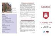 VII. MANAGEMENTTAGUNG der IVU und VU-Arge Hamburg 10 ...