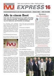 hommage: das zehnjährige - IVU Informationssysteme GmbH
