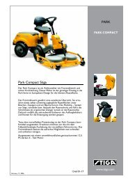Park Compact Stiga PARK