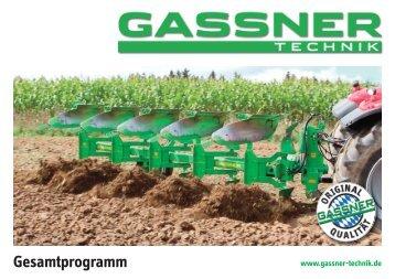 GASSNER Gesamtprogramm 2018/19