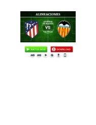 ((Gratis-Tv))Valencia vs Atlético de Madrid En Vivo