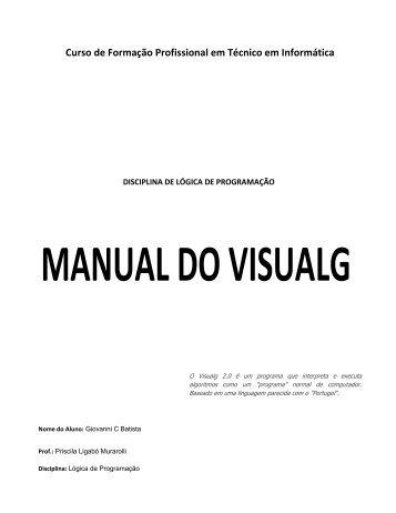 apostila visualg