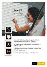 + AxrollNS-Set - GARAGENTORPROFI24.de
