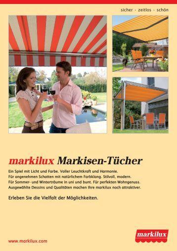 Den Sommer Geniessen Mit Markilux Markisen Markilux