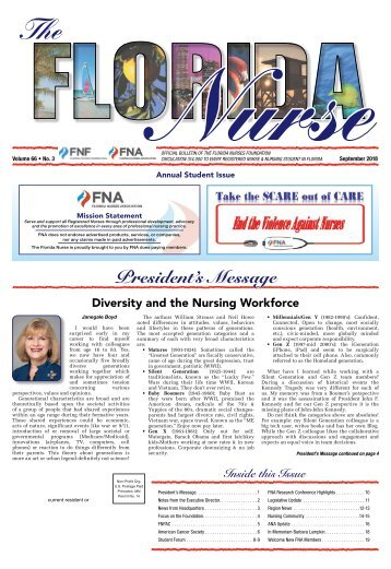 The Florida Nurse - September 2018