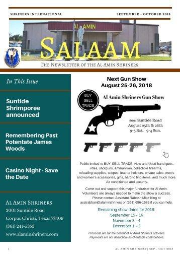 SALAAM SEP - OCT 2018