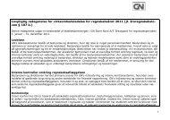 Lovpligtig redegørelse for virksomhedsledelse for ... - GN Store Nord