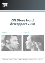 Årsrapport (PDF) - GN Store Nord