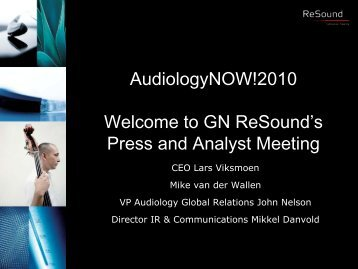 AudiologyNOW! - GN Store Nord