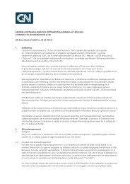 Generelle retningslinjer for incitamentsaflønning - GN Store Nord