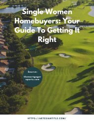 Single Women Homebuyers_ Your Guide To Getting It Right