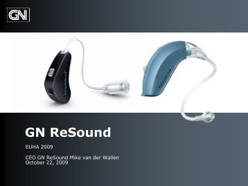 GN ReSound EUHA 2009 - GN Store Nord