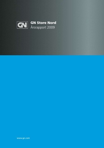 Årsrapport 2009 - GN Store Nord