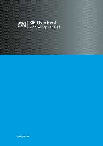 Annual Report 2009 - GN Store Nord