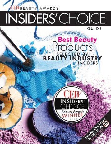 CEW Beauty Awards - Insiders Choice Guide 2015