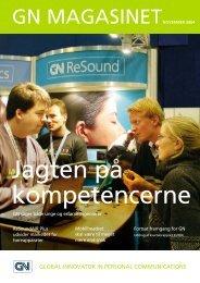 magasinetnovember 2004 - GN Store Nord