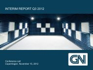 interim report q3 2012 - GN Store Nord