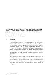 generelle retningslinjer for incitamentsafløn- ning af ... - GN Store Nord