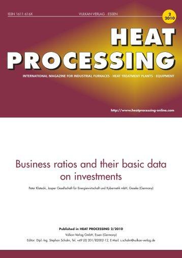 heat processing - Jasper GmbH