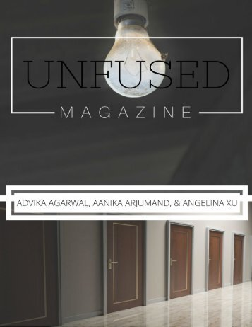 UNFUSED Teen Magazine - Issue #3 | The Mind & The Brain