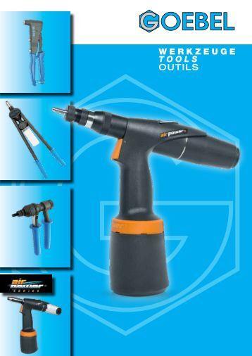 WERKZEUGE Tools Outils - Goebel GmbH