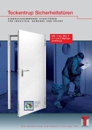 Teckentrup Sicherheitstüren