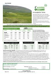 Rasensaat Rollrasen -  Gert Kaufmann Golf Course Management