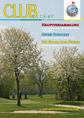Frühjahr 2011 - Golfclub Lippstadt
