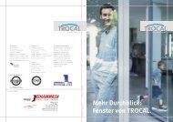 Mehr Durchblick: Fenster von TROCAL. - Fenster & Türen Giombolini