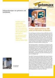 Pumpen-Weltmarktführer KSB setzt auf PDFmailer im Konzern