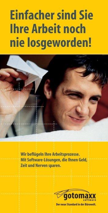 NEU! - Gotomaxx Software GmbH