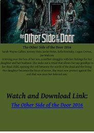 WATCH HINDI HORROR MOVIE The Other Side of the Door 2016 HD-BLURAY FREE