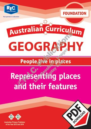 RIC-20049 AC Geography (Foundation) Representing places and their features