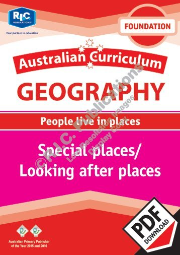 RIC-20052 AC Geography (Foundation) Special places - Looking after places