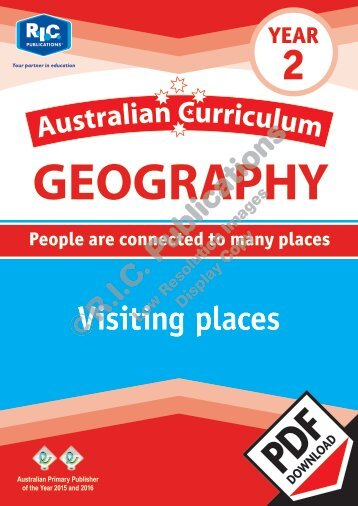 RIC-20061 Australian Curriculum Geography (Yr 2) Visiting places