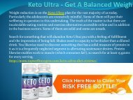 Keto Ultra - Get A Balanced Weight.output
