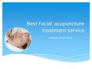 Get service of facial rejuvenation acupuncture in hanalei