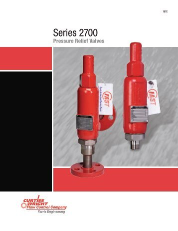 Series 2700 - Farris Engineering - Curtiss Wright Flow Control