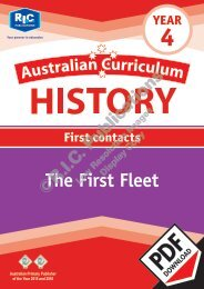 RIC-20115_Australian_Curriculum_History (Yr_4)_The_first_fleet