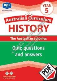 RIC-20117_Australian_Curriculum_History_(Yr_5)_Quiz
