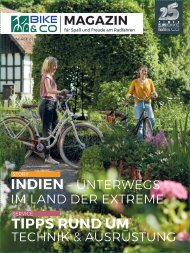 BIKE&Co - Das Magazin für Spaß und Freude am Radfahren - Ausgabe 02/2018