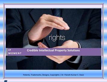 Credible Intellectual Property Solutions 10 july blue